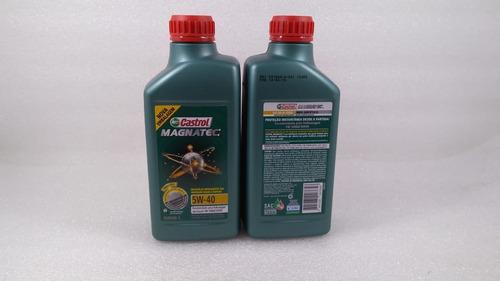troca oleo golf orig vw castrol magnatec 5w40 100% sintético