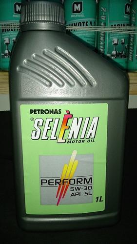 troca óleo selenia 5w30 original fiat fire 3l + filtro oc600