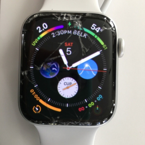 troca vidro touchscreen apple watch conserto serie 1 2  3  4