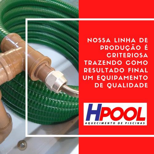 trocador de calor -  aquecedor piscina - manutenção e vendas