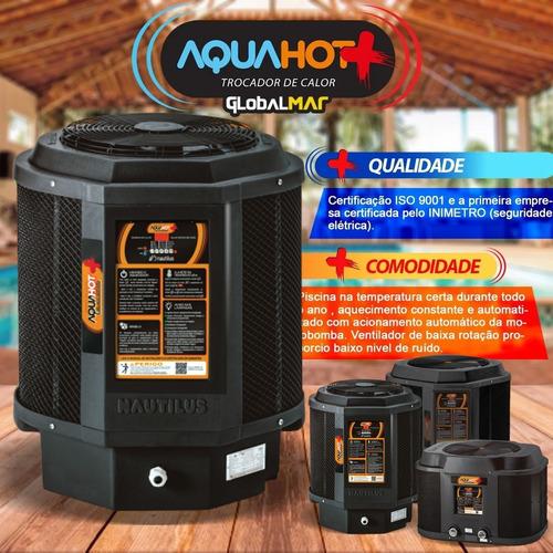 trocador de calor piscinas aquecedor econômico nautilus aa85