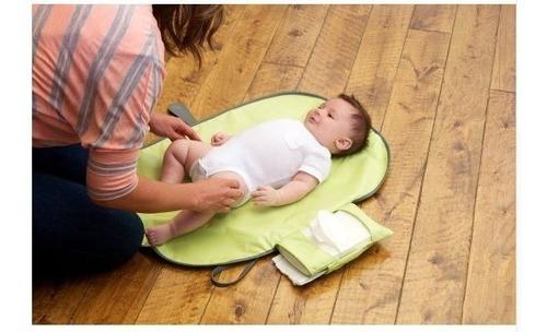 trocador fralda bebê bolsa portátil mudança manta viagem