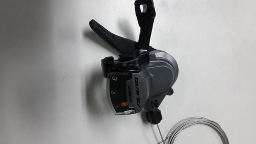 trocador rapid fire shimano alivio sl-m4000 3 x 9  2018