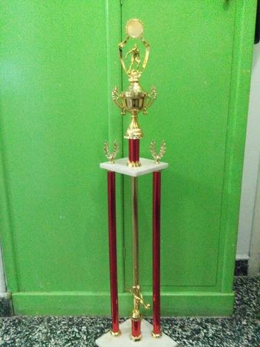 trofeo 3 columnas 1mts altura.  trofeoshm