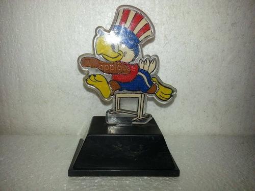 trofeo mascota águila sam olimpiadas  angeles 1984 kzr