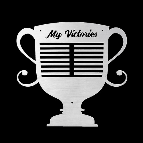 trofeo medalla percha sport metal pantalla rack holder monta