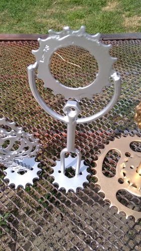 trofeos artesanales en hierro