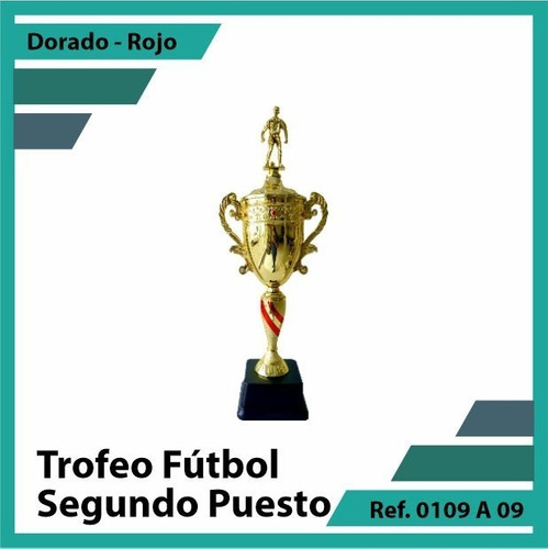 trofeos en cali segundo puesto