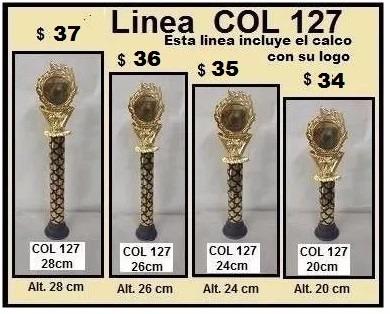 trofeos medallas alt.22 a 38cm,souvenirs,medallas,