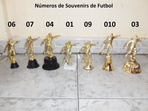 trofeos souvenirs copas medallas plaquetas