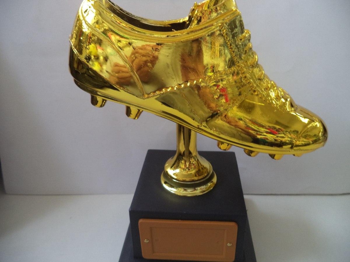 c4c3fe1770705 Troféu Chuteira De Ouro