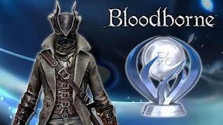 trofeu de platina bloodborne (ps4)