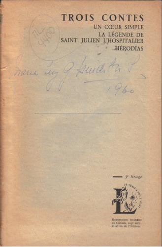 trois contes / gustave flaubert / en francés