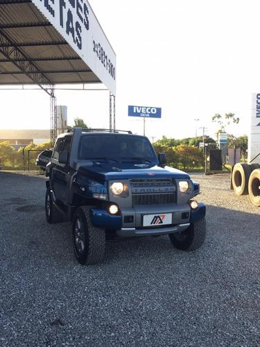troller t4  4x4 2p ano 2015 turbo  diesel azul.