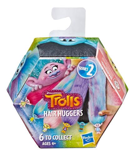 trolls hair huggers hasbro - juega con cabello