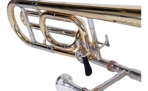 trombon tenor con transpositor custom marca parquer cuota