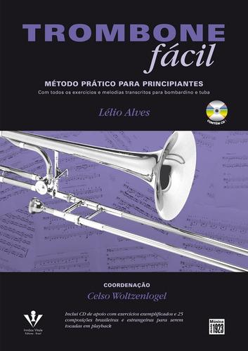 trombone fácil - método prático para principiantes - novo