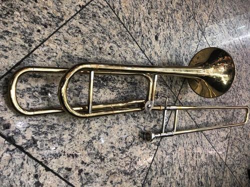 trombone  rotor de vara sib-mol scavone bocal estojo orq ccb