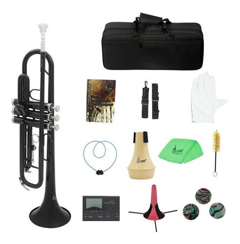 trompeta de latn bb b plana con boquilla bolsa de