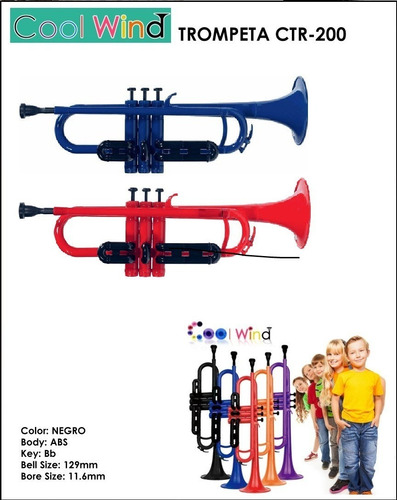 trompeta de plastico cool wind ctr200 en belgrano! fm