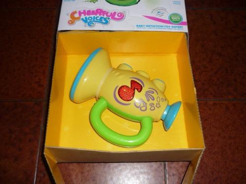 trompeta de tonos y luces para bebe