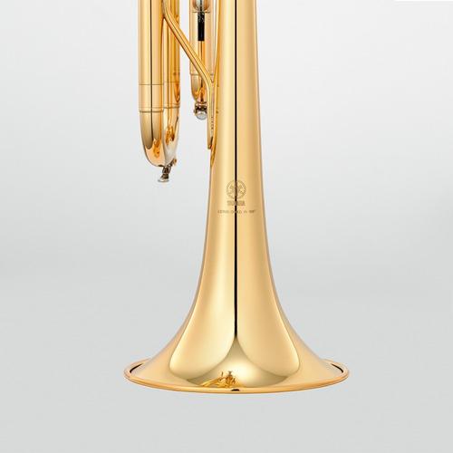 trompeta dorada yamaha en sib ytr-2330