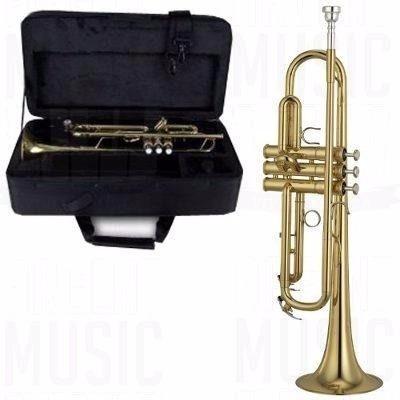 trompeta estudio con estuche semirigido excelente calidad