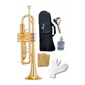 Trompeta Parquer Custom + Accesorios / Varios Colores +envio