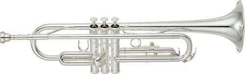 trompeta plateada yamaha en sib ytr-2330s