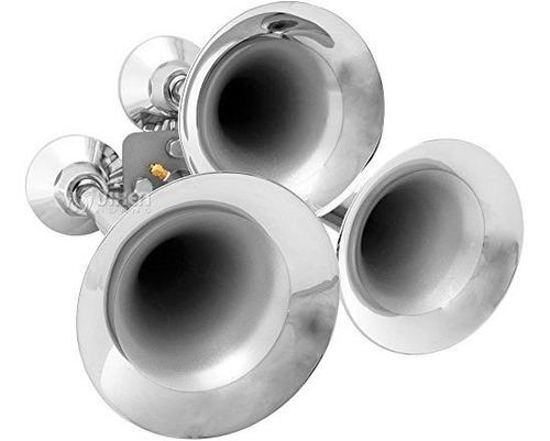 trompeta triple / 3 vixen cuernos 152 db sirena de tren resi