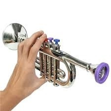 trompete infantil saxofone musical  acustico iniciantes