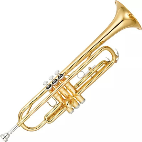 trompete yamaha ytr 2330 laqueado dourado bb com case
