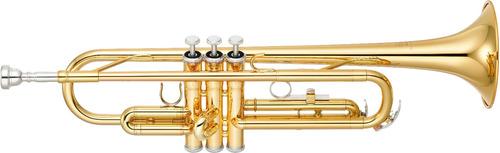 trompete yamaha ytr 2330 laqueado + suporte rmv ytr2330