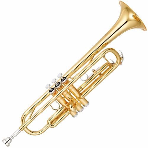trompete yamaha ytr3335 cn laqueado dourado bb