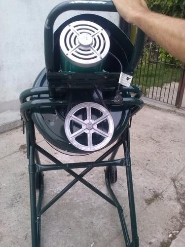 trompo hormigonero de volteo 150 litros con motor 1hp reforz