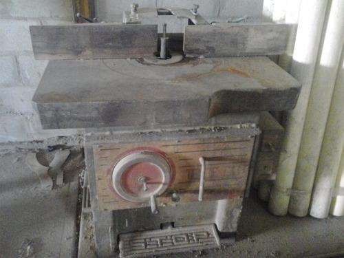 trompo industrial para madera motor 7hp italiano statton t33