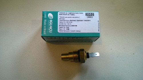 trompo (interruptor, pera, sensor) de temperatura para panel
