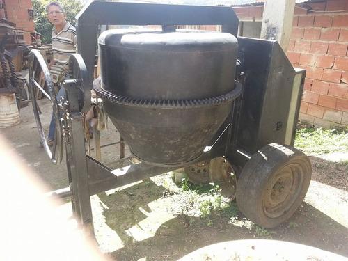 trompo mezclador de cemento con motor industrial