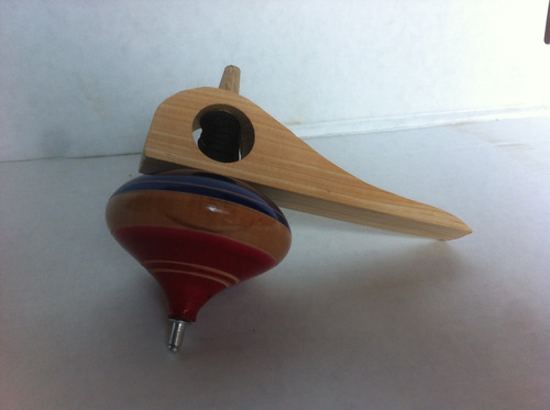 trompo pirinola juguete artesanal mexicano excelente calidad