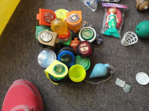 trompos y yoyos coleccionables