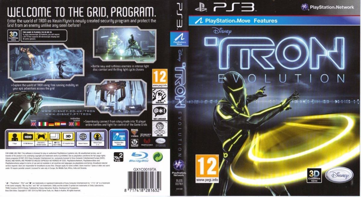 Tron Evolution Ps3 Fisico Original - $ 690,00