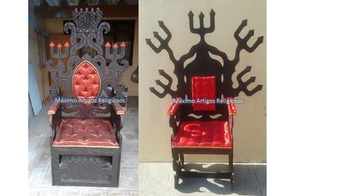 trono de exu, artigos religiosos, umbanda, candomblé