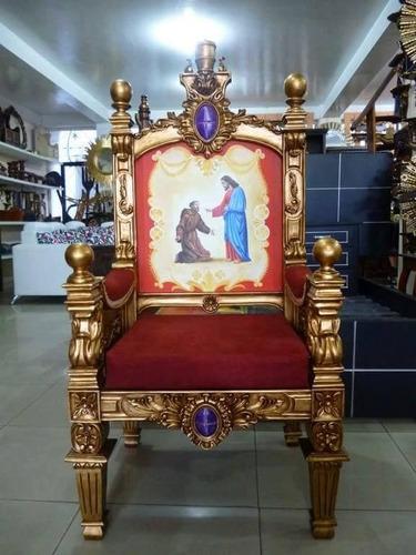 trono silla presidencial para iglesia