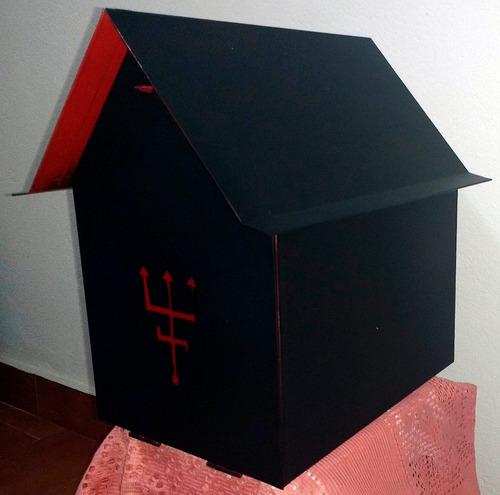 tronqueira caseira casa de exu e pombagira umbanda oferta