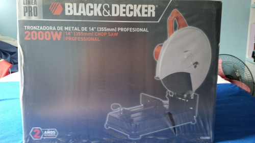 tronzadora black & decker cs2000 170$