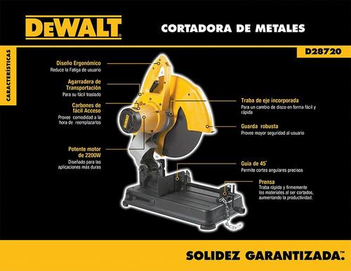 tronzadora dewalt para metales 2.200w nuevos