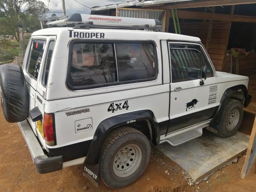 trooper 1990 4x4 hidraulico