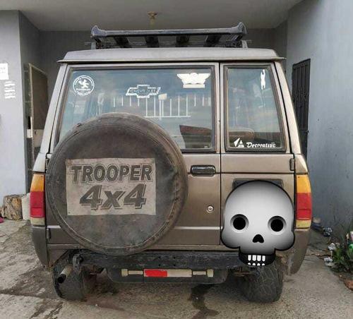 trooper 4x4 3 puertas a toda prueba