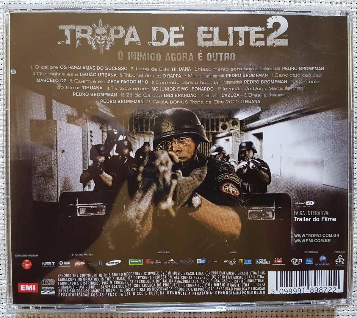 trilha sonora tropa de elite 2