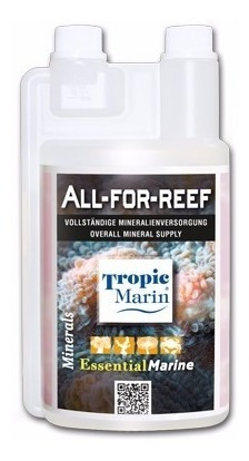 tropic marin solução - all for reef 500ml